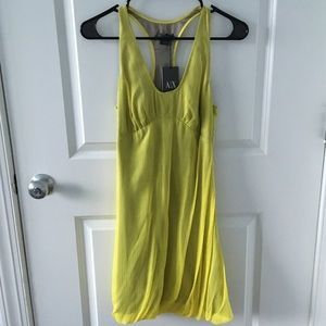 NWT A/X Sexy Neon Yellow Dress